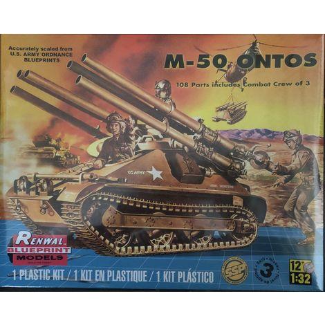 Revell Monogram Modellbausatz M-50 Ontos EDT Druckguss Modell Kit, Maßstab 1:32 / Nr.: 85-7823