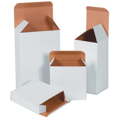 "main image of ""Reverse Tuck Carton White - 500 Micron - 50X40X75MM- you get 25"""