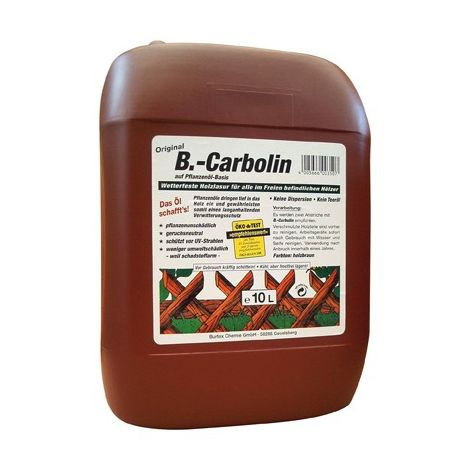 Revestimiento de madera carboline 10 litros .