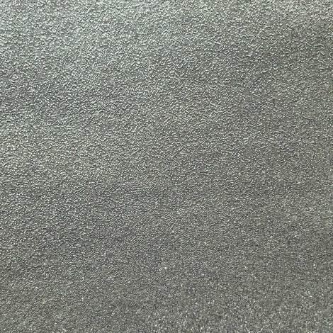 Revestimiento de pared de lujo perlas de vidrio WallFace CBS16 CRYSTAL unicolor papel pintado de lujo no tejido hecho a mano con perlas de vidrio reales brillante plateado-gris 2,45 m2