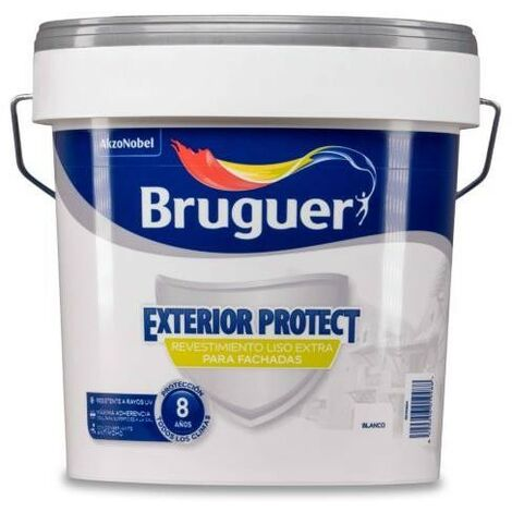 REVESTIMIENTO EXTERIOR PROTECT LISO BLANCO 25 KG