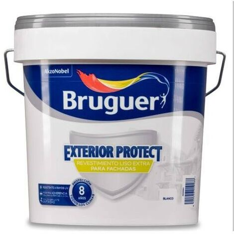 REVESTIMIENTO EXTERIOR PROTECT LISO BLANCO 4L