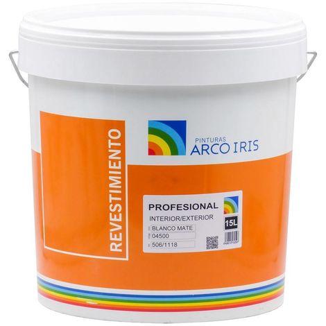 Revestimiento Liso Blanco Arcoiris 15 L | 15 L