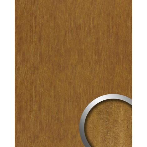Revestimiento mural Estilo cuero chapa de acero WallFace 17848 OXY TERRA Panel autoadhesivo marrón óxido| 2,60 m2
