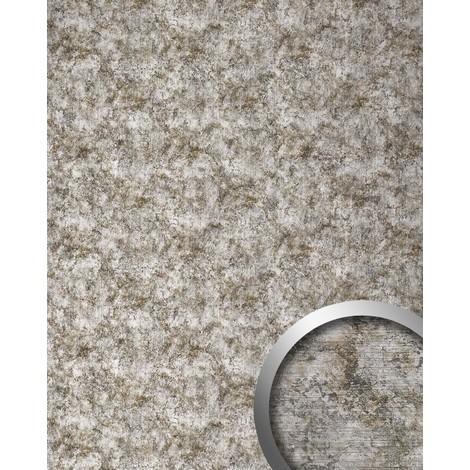 Revestimiento mural Óxido de metal WallFace 17275 DECO VINTAGE Metall Panel autoadhesivo gris plateado 2,60 m2