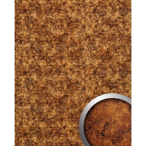Revestimiento mural WallFace 17271 VINTAGE Estilo cuero Vintage Panel de pared autoadhesivo marrón cobre 2,60 m2