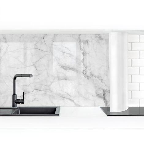Revestimiento pared cocina - Bianco Carrara Dimensión LxA: 50cm x 50cm Material: Premium