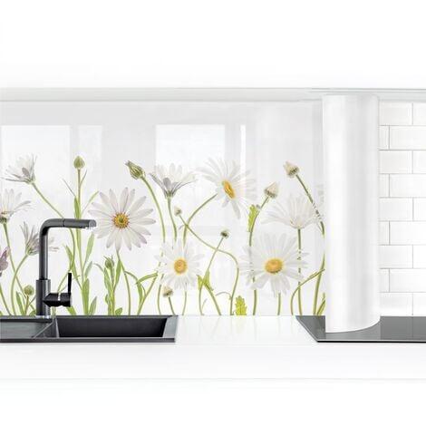 Revestimiento pared cocina - Gentle Daisy Mix I Dimensión LxA: 50cm x 50cm Material: Smart
