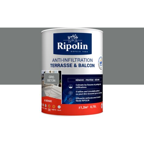 Revêtement Anti-Infiltration Terrasse & Balcon, Ripolin