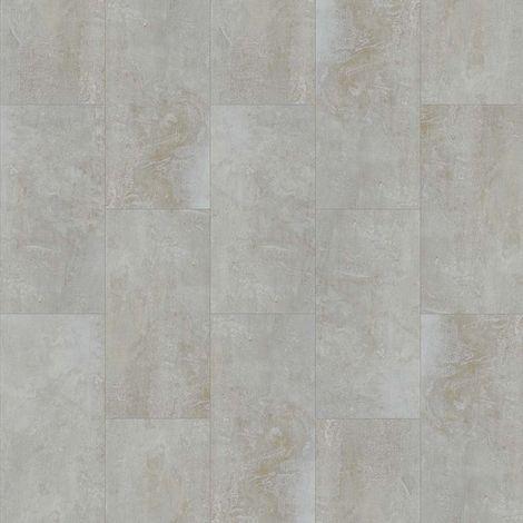 Revêtement de sol Dalles PVC à clipser Select Click Béton Gris 4,5mm