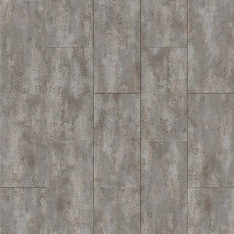Revêtement de sol Dalles PVC à clipser Transform Click Béton Metalik 4,5mm