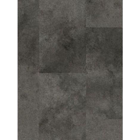 Revêtement de sol Dalles PVC Leader Click Oxyde Métal Anthracite 4,5mm