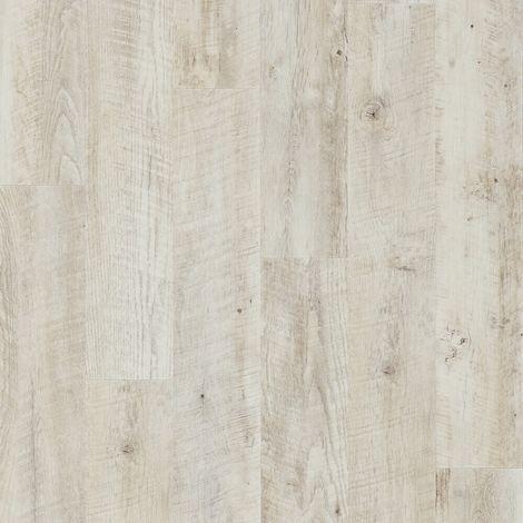 Revêtement de sol Lames PVC à clipser Impress Click Chêne Château Blanchi 4,5mm