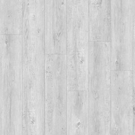 Revêtement de sol Lames PVC à clipser Leader Click Chêne Blanc Vieilli 4,5mm