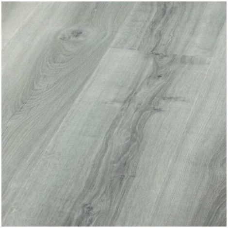 Revêtement de sol Lames PVC à clipser Leader Click Chêne Grisé 4,5mm