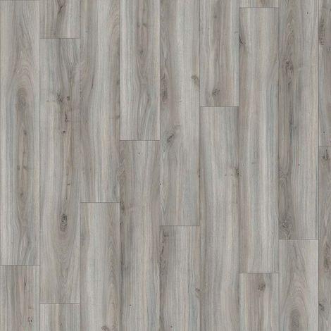 Revêtement de sol Lames PVC à clipser Select Click Chêne Grisé 4,5mm