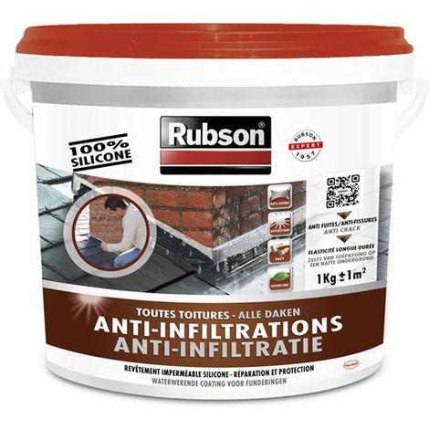 Revêtement d'étanchéité anti-fuites toutes toitures 1kg