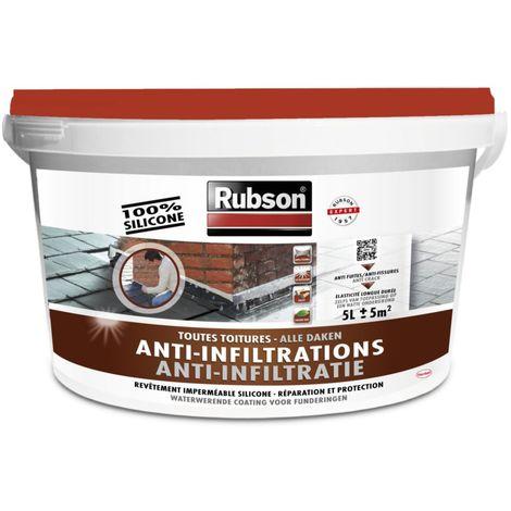 Revêtement d'étanchéité anti-fuites toutes toitures 5kg