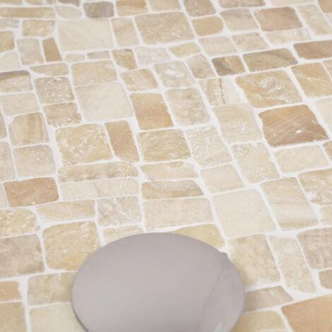 Revêtement mosaïque en pierre marbre et onyx