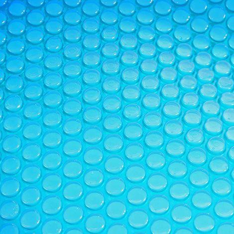 Revêtement pour piscine/pool, bâche thermique/solaire, épaisseur: 200 µm ~ rectangulaire, 3x2 m, bleu