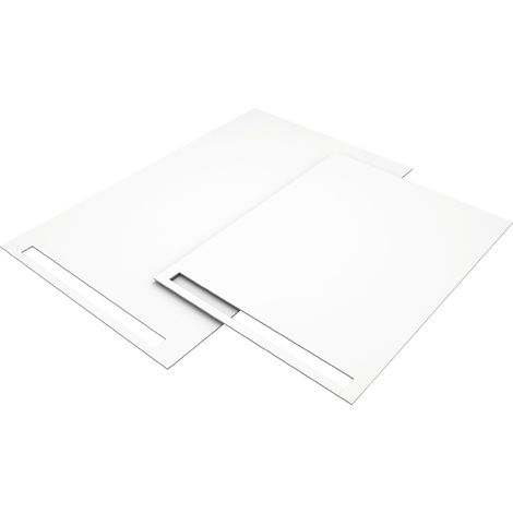 Revetement Wedi blanc Fundo Top Rialto neo 1800x900x6mm