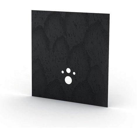 Revetement Wedi carbon noir I Board TOP 1200x1245x6 mm