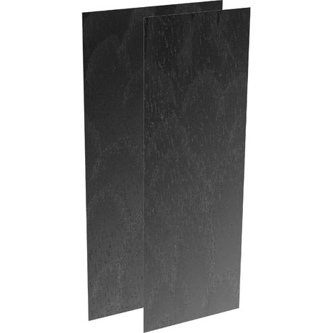 Revetement Wedi carbon noir Top Wall 2500x1200x6mm