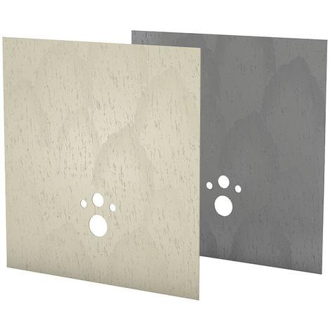 Revetement Wedi concrete gris I Board TOP 1200x1245x6 mm