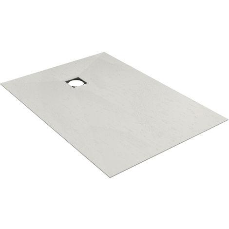 Revetement Wedi gris Fundo Top écoulement excentré 1200x900x6mm