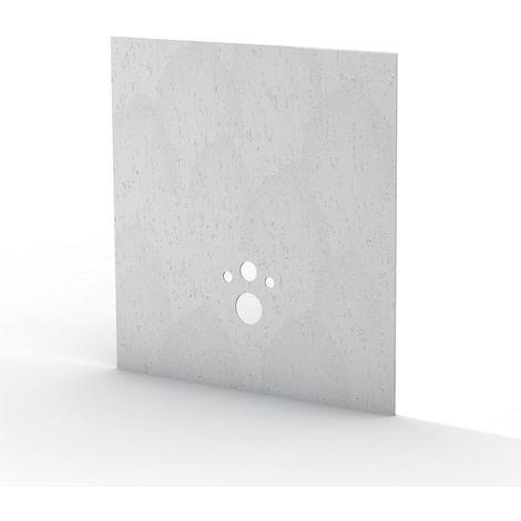 Revêtement Wedi stone gris I Board TOP 1200x1245x6 mm
