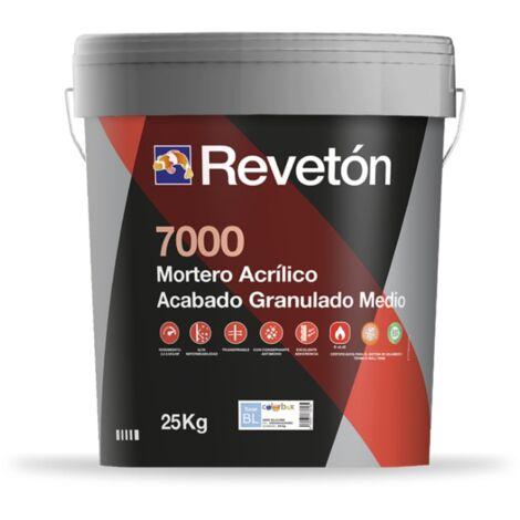 REVETON 7000 GRANULADO MEDIO 25 KG | Rojo turco 106
