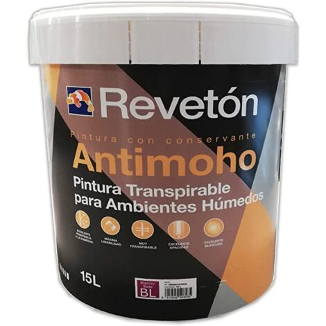 REVETON ANTIMOHO BLANCO 15 LT