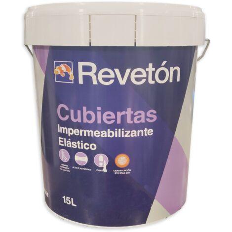 REVETON CUBIERTAS IMPERMEABILIZANTE 15 LT
