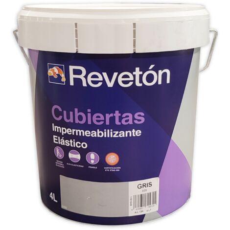 REVETON CUBIERTAS IMPERMEABILIZANTE 4 LT