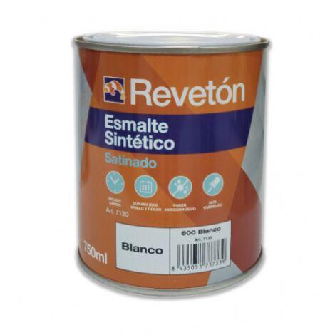 REVETON ESMALTE SATINADO BLANCO 750 ML