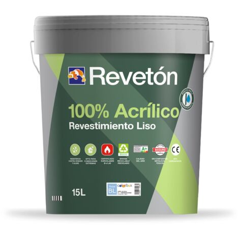 REVETON LISO 100% ACRILICO 15 LT