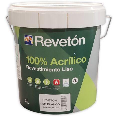 REVETON LISO 100% ACRILICO 4 LT | Blanco 001