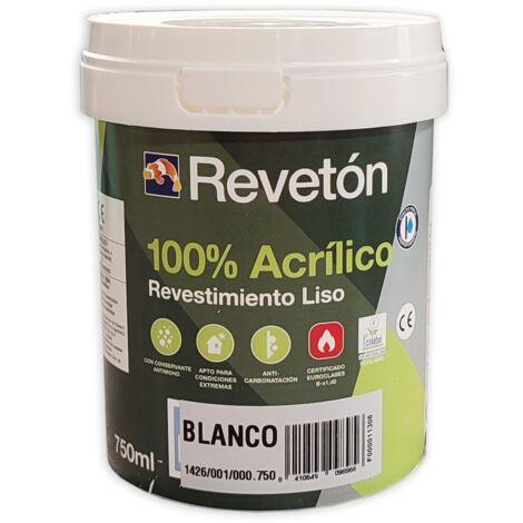 REVETON LISO 100% ACRILICO 750 ML | BLANCO