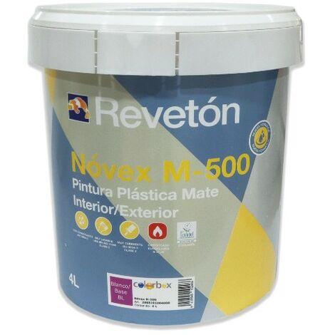 REVETON NOVEX M-500 ANTIMOHO BLANCO 4 LT