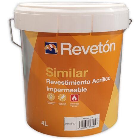 REVETON SIMILAR LISO 4 LT | Blanco 001