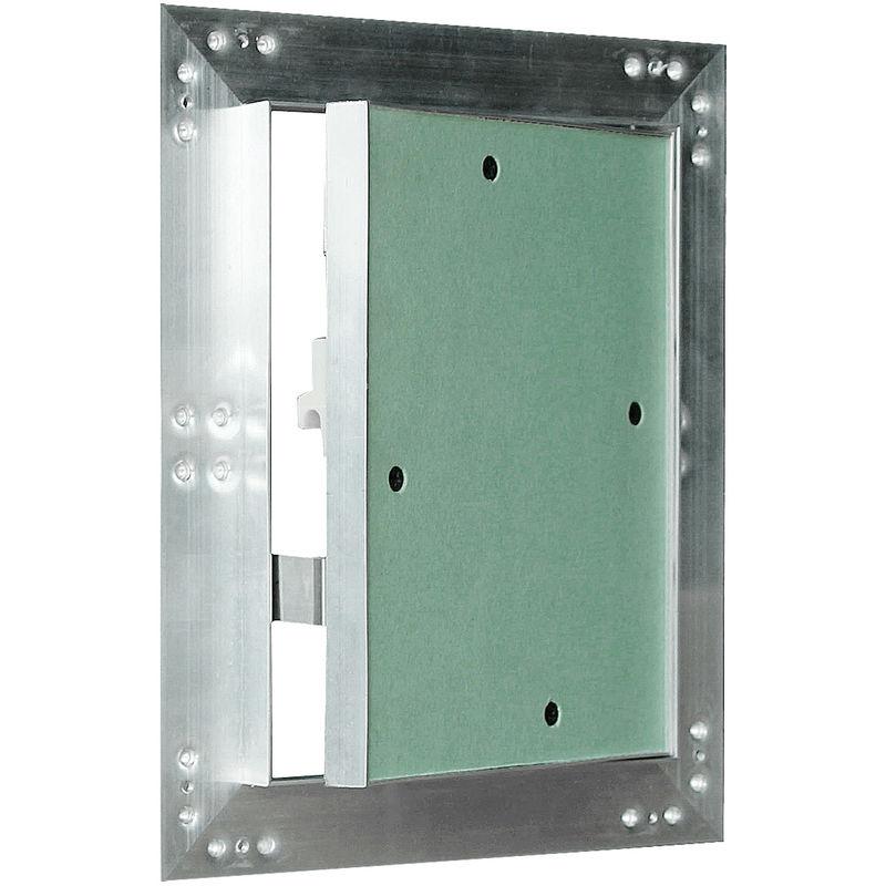 Revisionsklappe GK-Einlage Gipskarton Aluminium-Rahmen Hochwertig