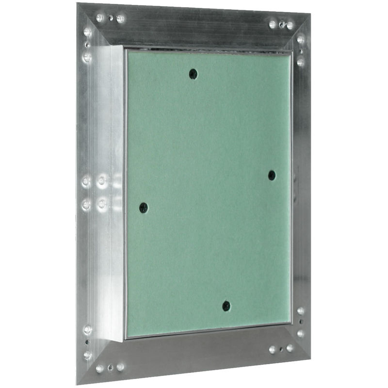 Revisionsklappe Aluminiumrahmen GK-Einlage Gipskarton Aluminium-Rahmen