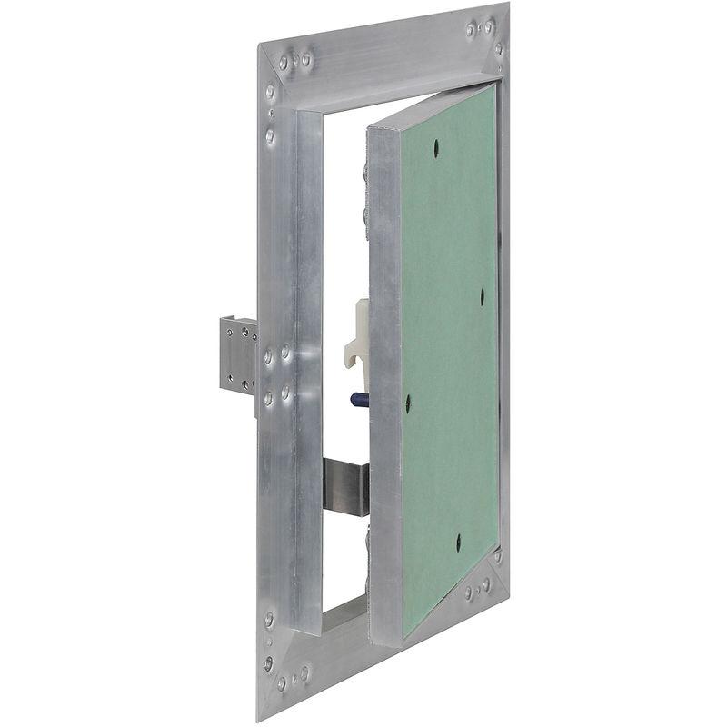 Aluminium-Rahmen Revisionstür GK-Einlage Wartungstür Gipskarton Revisionsklappe
