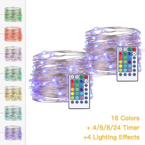 RGB Battery Box Light Strings