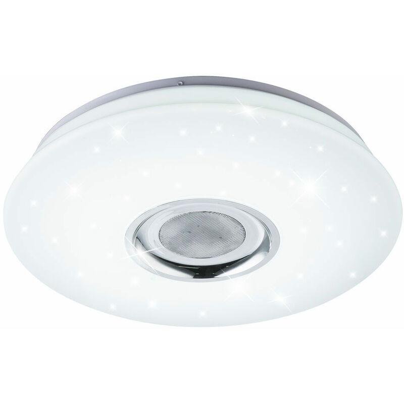 RGB LED Deckenlampe, Bluetooth, Lautsprecher, D 40 cm, NICOLE   41329 18