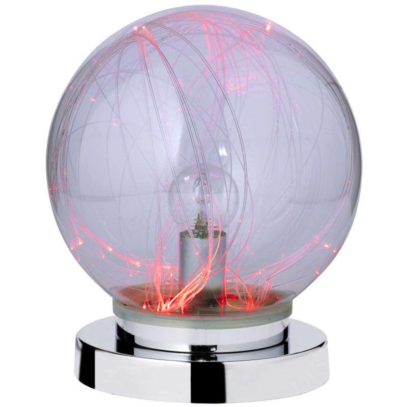 Lampe Salon Votre Chrome Rgb Table Et Verre Led Pour kiOXZwuTP