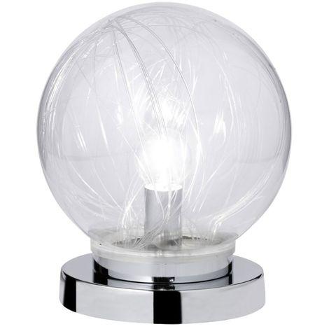 Chrome Led Salon Verre Rgb Table Pour Et 868302010200 Votre Lampe SVqUMpGz