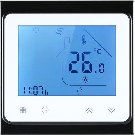 R¨¦gulateur de temp¨¦rature de thermostat de chauffage par le sol ¨¦lectrique 16A BHT-002GB