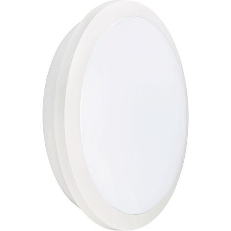 RHEA CCT - Hublot IP65 IK10, blanc, LED integ. 21W 2200lm 3000K-4000K