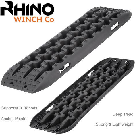 """main image of """"Rhino - Verricello Elettrico 4500 lb / 2040 Kg 12V con Telecomando - Dyneema/Corda Sintetico"""""""